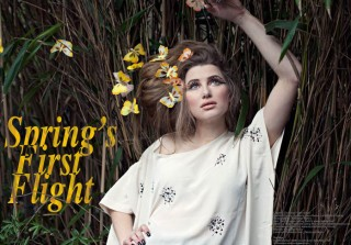 Who's Jack Magazine – Spring's First Flight featuring Paper Dress Vintage