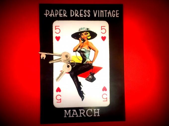 Paper Dress keys
