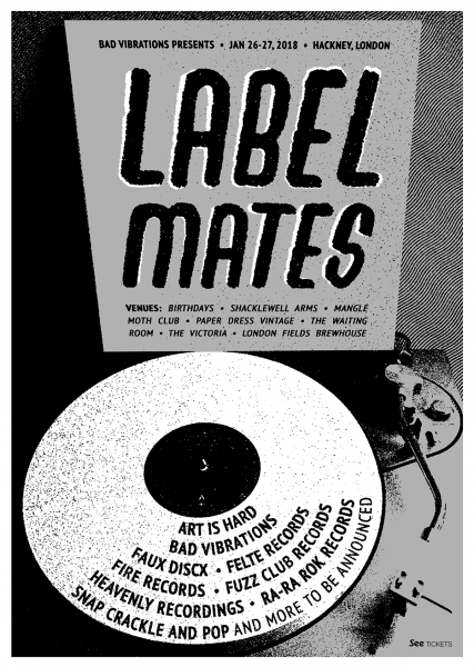 26-27th_Jan_Bad_Vibrations_Label_Mates_Olya_Dyer_gig_poster