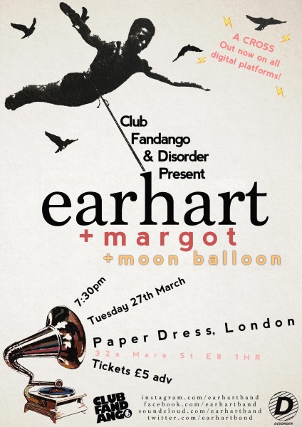 Earhart - Paper Dress Poster Final