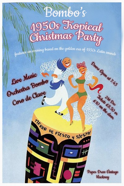 Bombo's 1950s-Tropical-Xmas-Party